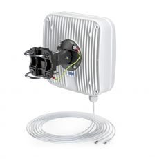 Rear of the AP5G2 outdoor antenna with mounting system