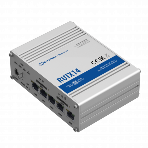 TELTONIKA RUTX14 4G Router with two integrated Modems (Dual WAN)