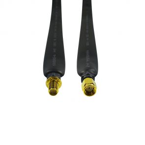 Coaxial window cable - 40cm, RP-SMA male to RP-SMA female