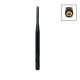 2.4 GHz WiFi omnidirectional antenna with RP-SMA connector, articulated joint and 5dBi power gain