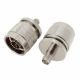 Coaxial adapter with RP-SMA female to N male