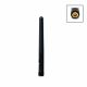 2.4 and 5 GHz WLAN omnidirectional antenna with RP-SMA connector, articulated joint and 2dBi / 3dBi gain
