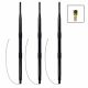 3-Pack FritzBox conversion set with 2.4 GHz WiFi omnidirectional antenna, housing clip, 9dBi