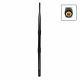 Dual band WLAN omnidirectional antenna with RP-SMA connector, articulated joint and 5dBi / 7dBi performance gain