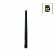 3G omnidirectional rod antenna with SMA connector and 2dBi gain