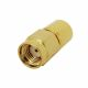 50 ohm coaxial resistor for 0-6 GHz with RP-SMA connector