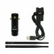 Scope of delivery with AWUS036AC, two WiFi antennas and USB docking station