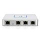 3 x Ethernet Port and 1 x Console Port - USG protects your network