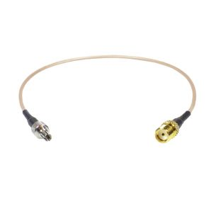 Coaxial Pigtail, RG-178, 25cm, SMA female to CRC9 male