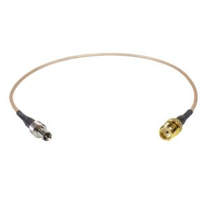 Coaxial Pigtail, RG-178, 25cm, SMA female socket to TS-9 male conenctor
