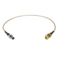 Coaxial Pigtail, RG-178, 25cm, SMA female socket to TS-9...
