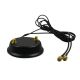 2x2 MIMO magnetic base for WiFi antenna with 1.5m cable and RP-SMA plug / socket