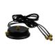 3x3 MIMO magnetic base for RP-SMA WiFi antenna with 1.5m cable