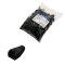 LogiLink MP0006 - 100 x modular protection cover for RJ45 plug, black