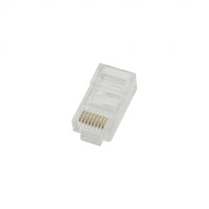 100 x LogiLink MP0002 RJ45 plugs / crimp plugs, CAT5e, unshielded