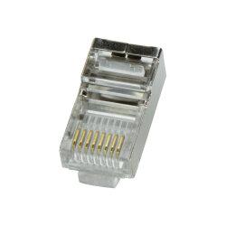 LogiLink MP0003 - 100 x RJ45 plug / crimp plug, CAT5e, shielded