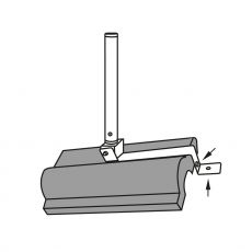 Assembly drawing of the antenna holder