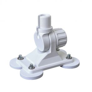 TravelConnector 2DMK - 2D tilt holder with magnetic feet and 1 inch UNS thread instruction