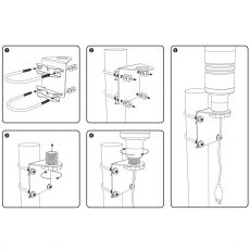 Installation instructions horizontal alignment