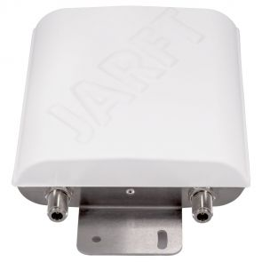 JARFT 4G antenna - view of the connectrs, 2 x N socket