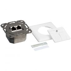 Individual parts with die-cast housing