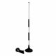Rod antenna for 3G / 4G with TS-9 connector, magnetic base and 2.5m antenna cable