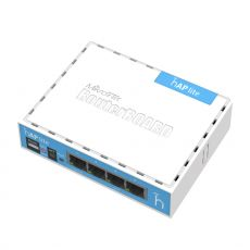 MikroTik hAP Lite RB941-2ND 2,4 gigahertz wifi access...