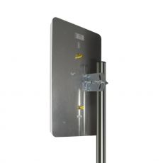JARFT J800 4G antenna - rear view in assembled condition