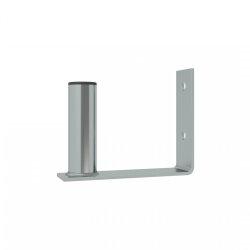 Wall bracket / antenna bracket, galvanized, 15cm x 10cm