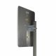 JARFT LTE2600 antenna - rear view with reflector, 2 x N socket and mounting accessories