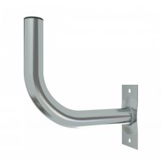 Galvanized wall mount for antenna mounting, 25cm x 25cm