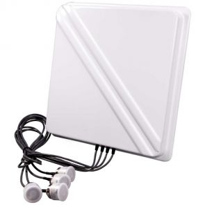 Interline PANEL 10 DUAL-BAND AC-MIMO 4x4  directional antenna with 10dBi gain