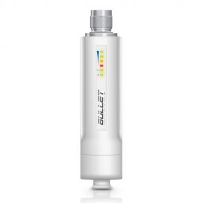 Ubiquiti Bullet M2-HP 2.4 GHz WiFi System with airMAX technology