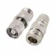 Coaxial adapter RP-TNC male to N female