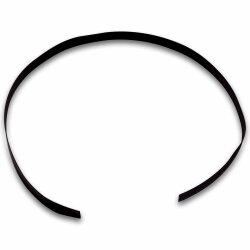 1m shrink tube, 2:1 ration, black, diameter 9.5mm