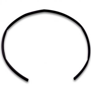 1m shrink tube, 4:1, black, diameter 12mm