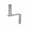 Wall bracket / antenna bracket, galvanized, 15cm x 25cm