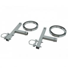Chimney holder for antennas with 5m steel band