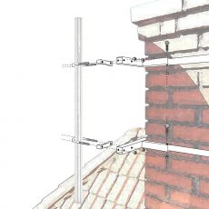 Application example on a chimney