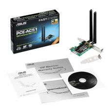 Scope of delivery with dual band WiFi antennas and CD