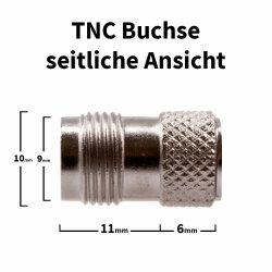 TNC socket - side view