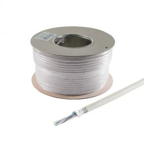 CAT.5e 100m ring network cable, SF/UTP, CCA, PVC jacket