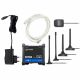 Scope of delivery: RUT955 GLOBAL 4G router, GPS antenna, 2 x 4G antenna, 2 x Wireless LAN antenna