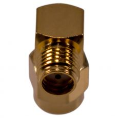 Detailed view of SMA socket