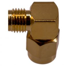 Side view of the coax adapter