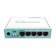MikroTik RB750GR3 Router with 5 RJ45 ports one USB Port and one microSD slot