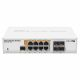 MikroTik CRS112-8P-4S-IN Gigabit PoE Switch with 8 RJ-45 ports and 4 SFP ports
