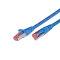CAT.6 Ethernet cable, STP, 2 x RJ45, LSOH, 15m, blue