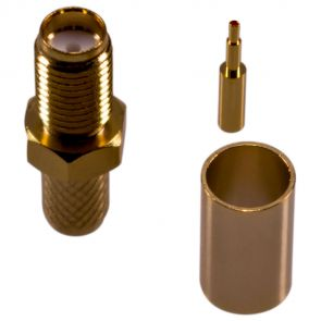 SMA socket (female) for H-155, RF-5, RF-240 cables