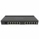 MikroTik RB4011iGS+RM with 10 RJ45 Ports one PoE In and Out Port and 1 SFP Cage